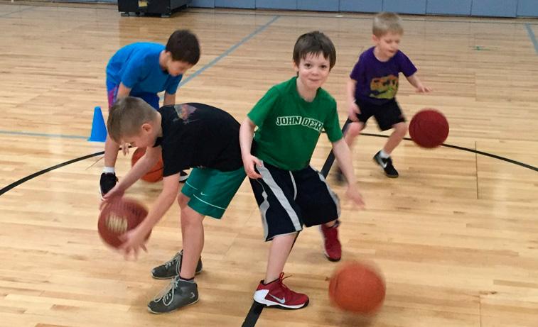 K-3 Tiny Hoops Class